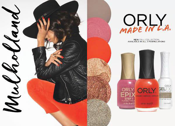 New Orly Autumn colours